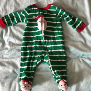 Newborn Santa sleeper